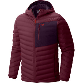 Mountain Hardwear M´s StretchDown Hooded Jacket Cote du Rhone